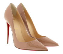 So Kate 120 Patent Leather Pumps Nude Pumps