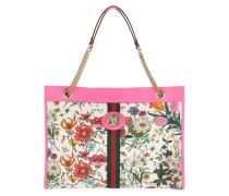 Shopper Rajah Large Tote Fuchsia/Floral Print bunt
