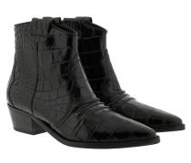 Boots Eve Kroko Black