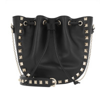 Rockstud Bucket Bag Black Beuteltasche