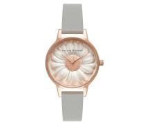 Uhr Watch 3D Daisy Grey