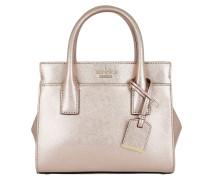 Mini Candace Satchel Bag Rosegold Tasche