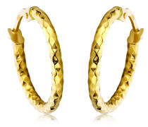 Ohrringe Creole Earring 14KT Yellow Gold