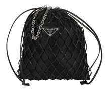 Umhängetasche Prada Crossbody Bag Black schwarz