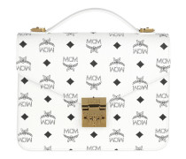 Patricia Visetos Satchel Bag Medium White Tasche