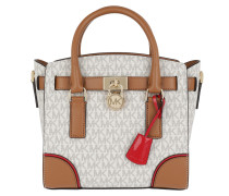 Hamilton SM EW Satchel Bag Vanilla / Acorn / Mulberry Satchel Bag