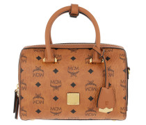 Bowling Bag Essential Visetos Original Boston Handle Bag Cognac cognac