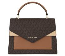 Satchel Bag Ludlow Medium Th Satchel Brn/Btrn/Acr braun