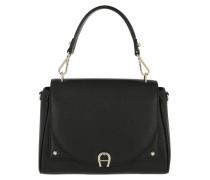 Diadora M Handle Bag Black Satchel Bag