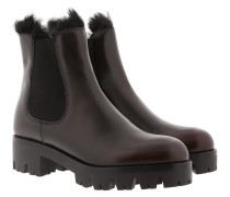 Fury Chelsea Boots Leather Cordovan+Nero Schuhe