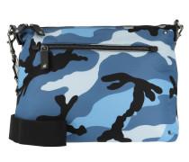 Camoushuffle Shoulder Bag Bluette Light Tasche