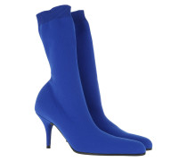 Boots Knife Ankle Boots Blue Sapphire blau