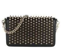 Zoom Pouchette Calf Leather Black/Gold Tasche