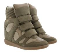 Bekett Sneakers Suede Taupe Sneakers