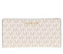 Portemonnaie Jet Set Large Card Carryall Vanilla/Acorn beige