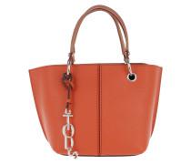 Joy Bag Small Calf Leather Mattone/Brandy Tote