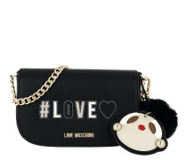 Love Chain Crossbody Bag Nero Tasche