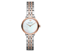 Uhr AR11157 Dress Watch Silver silber