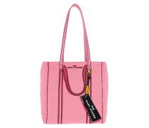 Tote The Trompe L'Oeil Tag Bag Pink Multi