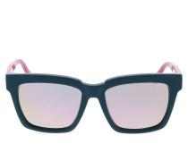 Sonnenbrille MCM646S Petrol/Rose Visetos blau