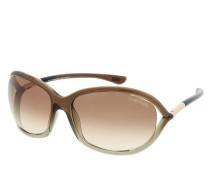 Sonnenbrille FT0008 6138F braun