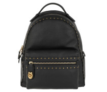 Rucksack Border Rivets Campus Backpack Black schwarz