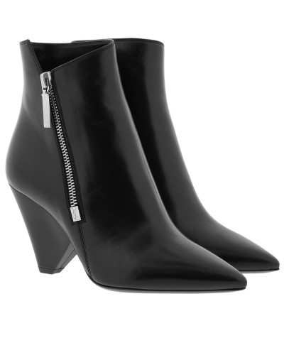 Saint Laurent Damen Niki 85 Ankle Boots Black Schuhe Bester Shop Zum Kauf aAyL1
