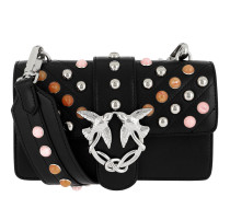Mini Love Stones Shoulder Bag Nero/Multicolor Tasche
