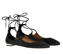 Ballerinas Christy Flat Suede Black schwarz