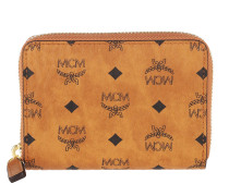 Portemonnaie Visetos Original Zip Wallet Cognac