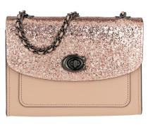 Umhängetasche Glitter Blocked Parker 18 Shoulder Bag Nude Pink rosa