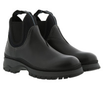Boots Booties Calf Leather Black schwarz