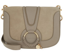 Umhängetasche Hana Crossbody Bag Leather Motty Grey beige