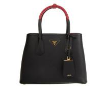 Shopping Bag Saffiano Cuir Nero/Fuoco Tote rot