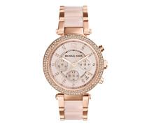 Uhr MK5896 Parker Watch Rosé rosa