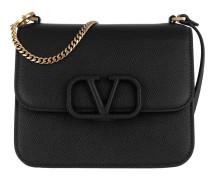 Umhängetasche V Sling Shoulder Bag Black schwarz