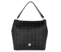 Hobo Bag Klara Visetos Hobo Bag Large Black schwarz