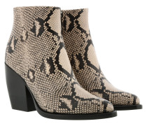 Boots Rylee Ankle Boots Leather Eternel Grey beige