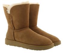 W Classic Cuff Short Boot Chestnut Schuhe
