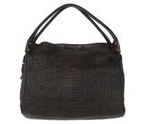 Shopping Bag Thin Woven Grigio Umhängetasche