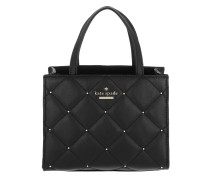 Emerson Studded Small Sam Black Tote
