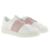 Sneakers Rockstud White Rose