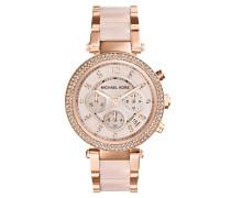 Uhren MK5896 Parker Watch Rosé rosa