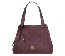 Signature Monogrammed Hobo Rustic Brown Tote