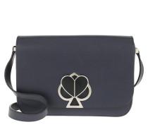 Umhängetasche Nicola Twistlock Medium Flap Shoulder Bag Blazer Blue