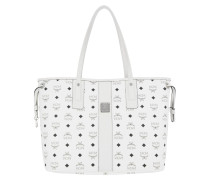 Reversible Shopper Visetos Medium White