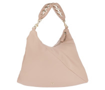 Carlie Handbag M Sand Hobo Bag