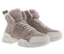 Boots Ace Suede Lammfell Ombra Creme