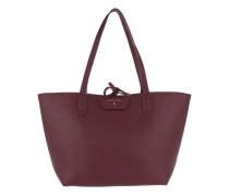 Logo Shopping Bag Double Ruby/Rose Shopper