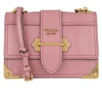 Glace Shoulder Bag Calf Leather Rose Tasche